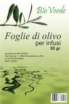Olive Leaf Organic Infused Oil